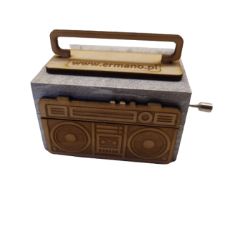 Retro style Music box