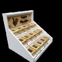 Music boxes display