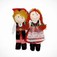 Dolls couple from Cracow (redhead)