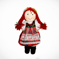 Doll girl from Cracow (redhead)